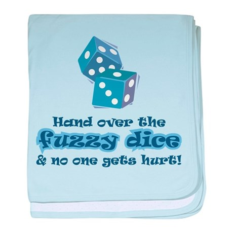 Hand fuzzy dice Infant Blanket
