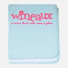 Wineaux def Infant Blanket