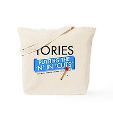 Tory Cuts Tote Bag