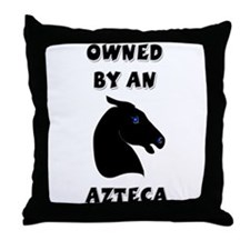Azteca Horse Throw Pillow