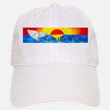 Save the Whales Baseball Baseball Cap