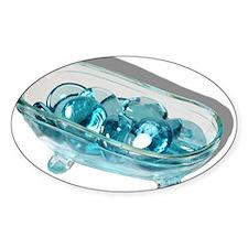 Bathtub Water Gems Decal