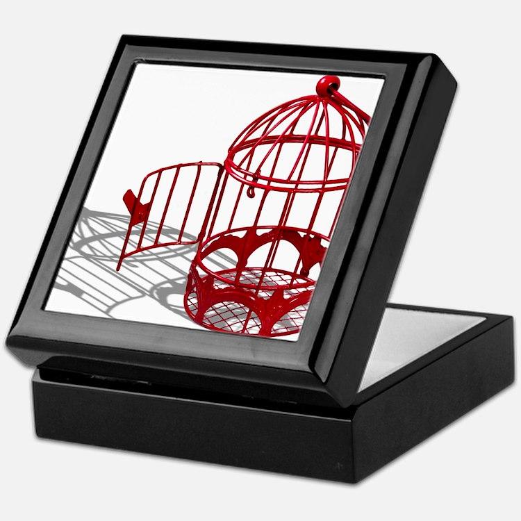 Bird House Keepsake Box