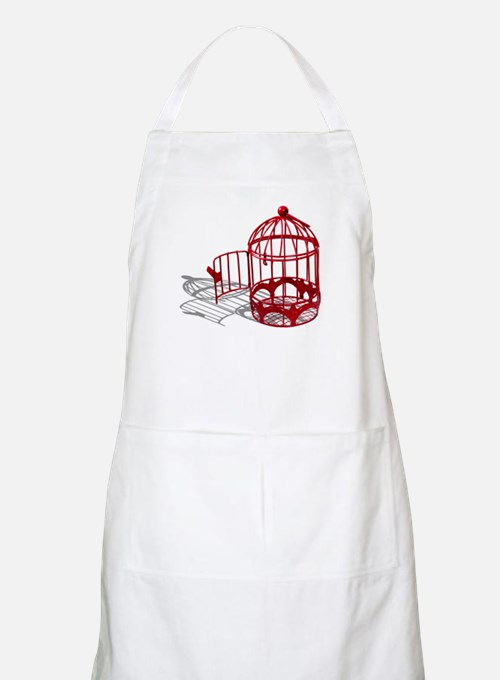 Bird House Apron