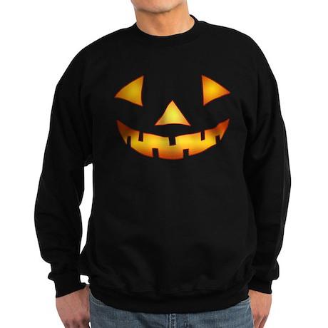Jack-o-lantern Pumpkin Sweatshirt (dark)