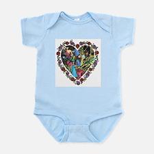 Amazon Tale Heart Infant Creeper