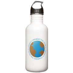 World Literacy Reading Water Bottle