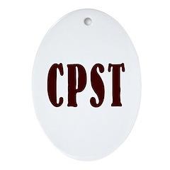 cpst Keepsake (Oval)