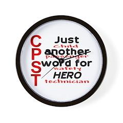 CPST = hero Wall Clock