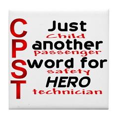 CPST = hero Tile Coaster