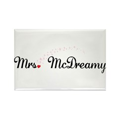 Mrs. McDreamy Rectangle Magnet