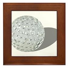 Golf Crystal Ball Framed Tile
