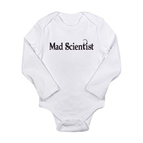 Mad Scientist Long Sleeve Infant Bodysuit