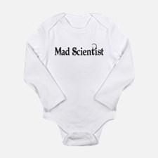Mad Scientist Long Sleeve Infant Bodysuit