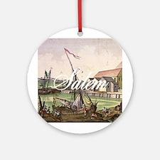 ABH Salem Round Ornament