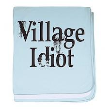Village Idiot Infant Blanket