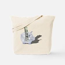 Money Piggy Bank Tote Bag