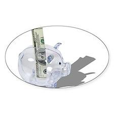 Money Piggy Bank Decal
