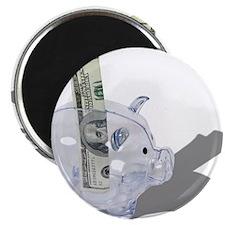 Money Piggy Bank Magnet