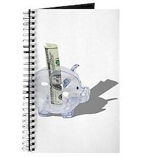 Money Piggy Bank Journal