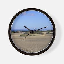 Maspalomas Dunes Wall Clock