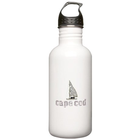 Cape Cod Sailboat Stainless Water Bottle 1.0L