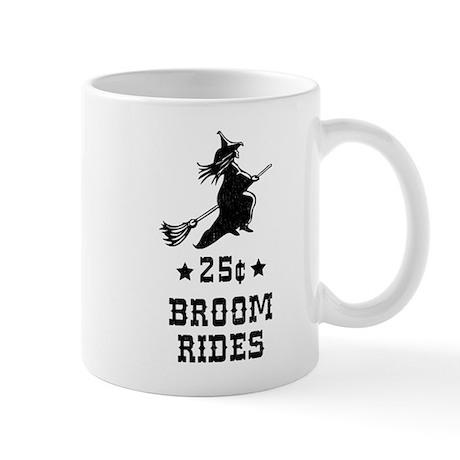 25 Cents Broom Rides Mug