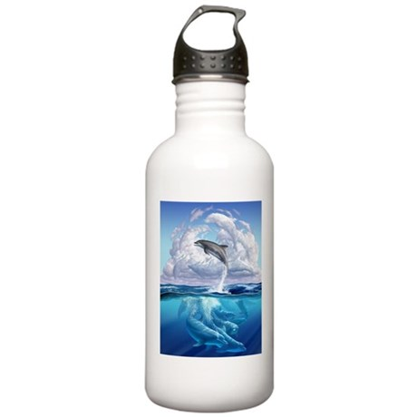 Dolphonic Symphony Stainless Water Bottle 1.0L