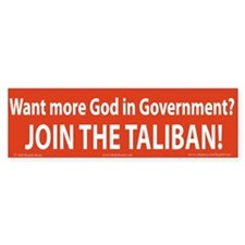 Taliban Bumper Stickers