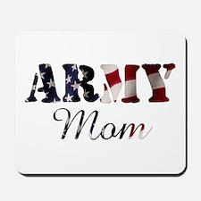 Army Mom Flag Mousepad