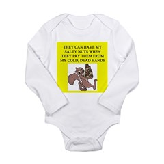 food police joke Long Sleeve Infant Bodysuit