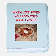 potato pancakes Infant Blanket