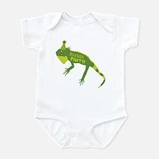 I-guana Party! Iguana Infant Bodysuit