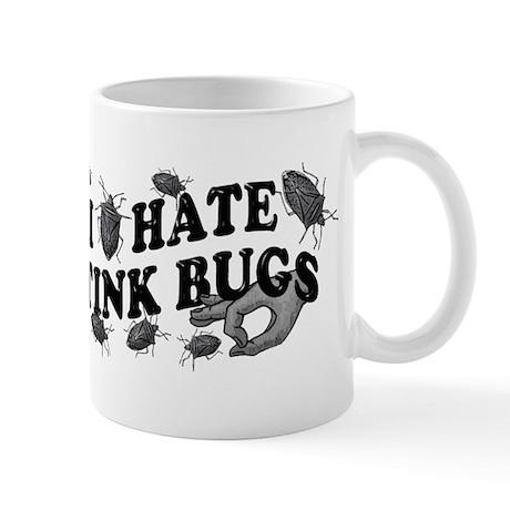 I hate stink bugs Mug