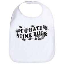 I hate stink bugs Bib