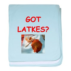 latkas gifts and t-shirts Infant Blanket