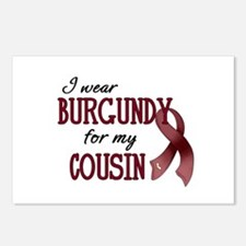 Wear Burgundy - Cousin Postcards (Package of 8)