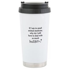 Small Animal Medicine B Travel Coffee Mug