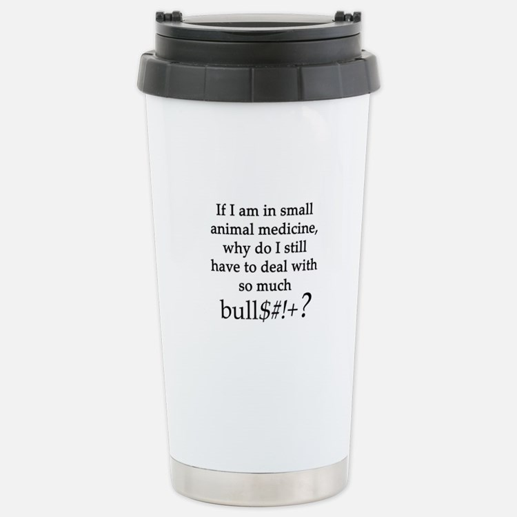 Small Animal Medicine B Travel Mug