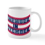 Remember in November Mug