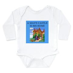 hine is his castle Long Sleeve Infant Bodysuit