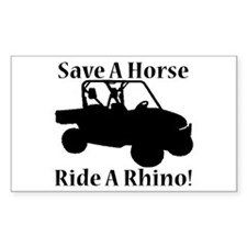 Save a Horse Decal