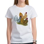 Sebright Rooster Assortment Women's T-Shirt