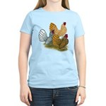 Sebright Rooster Assortment Women's Light T-Shirt