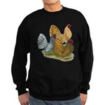 Sebright Rooster Assortment Sweatshirt (dark)