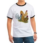 Sebright Rooster Assortment Ringer T