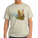 Sebright Rooster Assortment Light T-Shirt