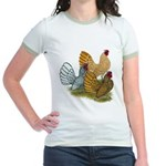 Sebright Rooster Assortment Jr. Ringer T-Shirt