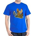 Sebright Rooster Assortment Dark T-Shirt