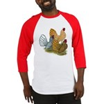 Sebright Rooster Assortment Baseball Jersey